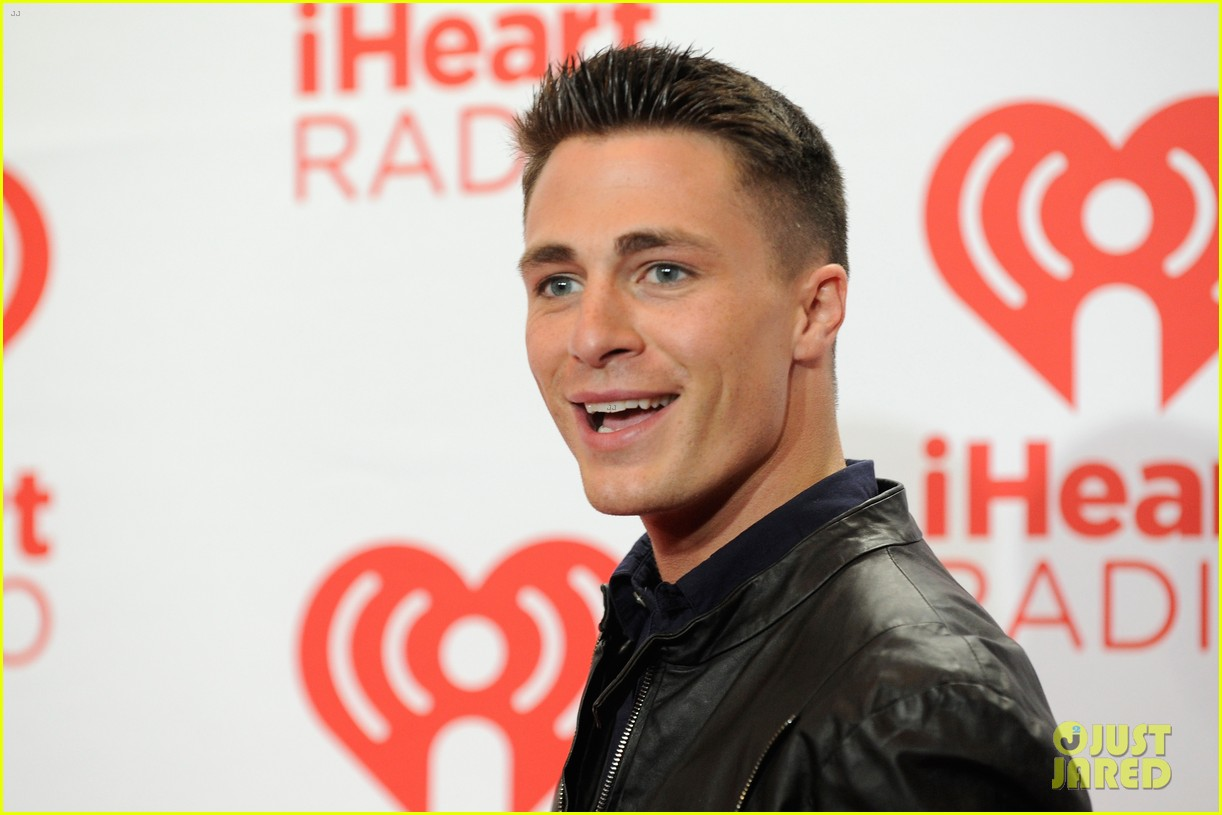 colton haynes shay mitchell lucy hale iheartradio guests 172957266