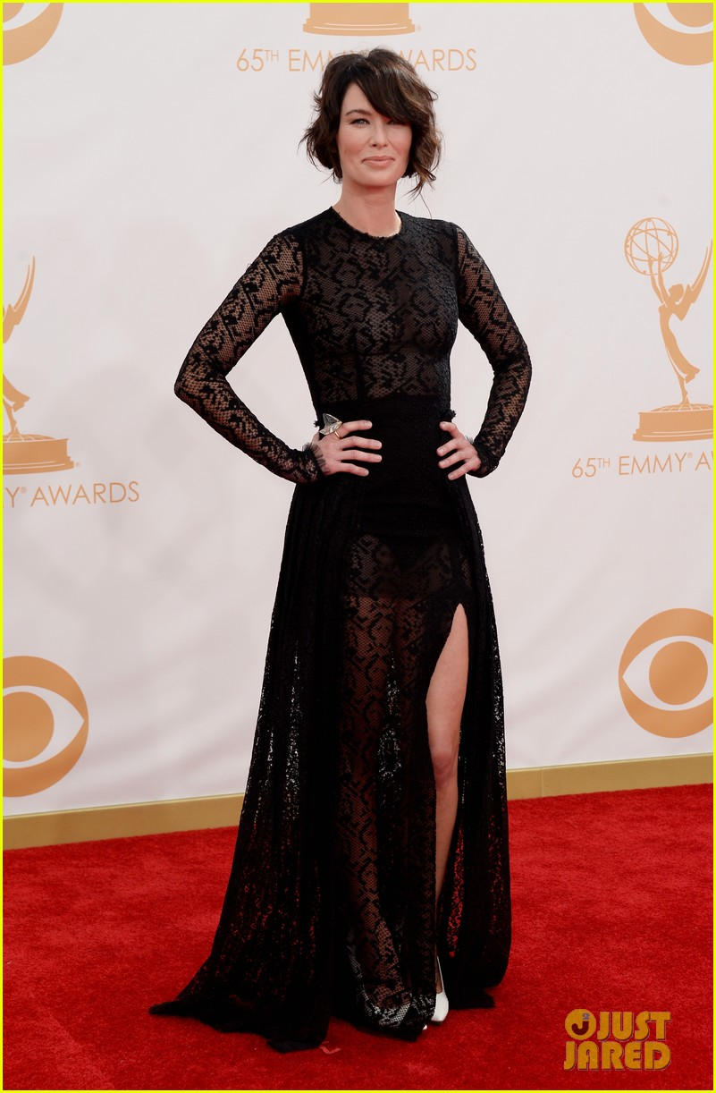 lena headey emmys 2013 red carpet 032958324