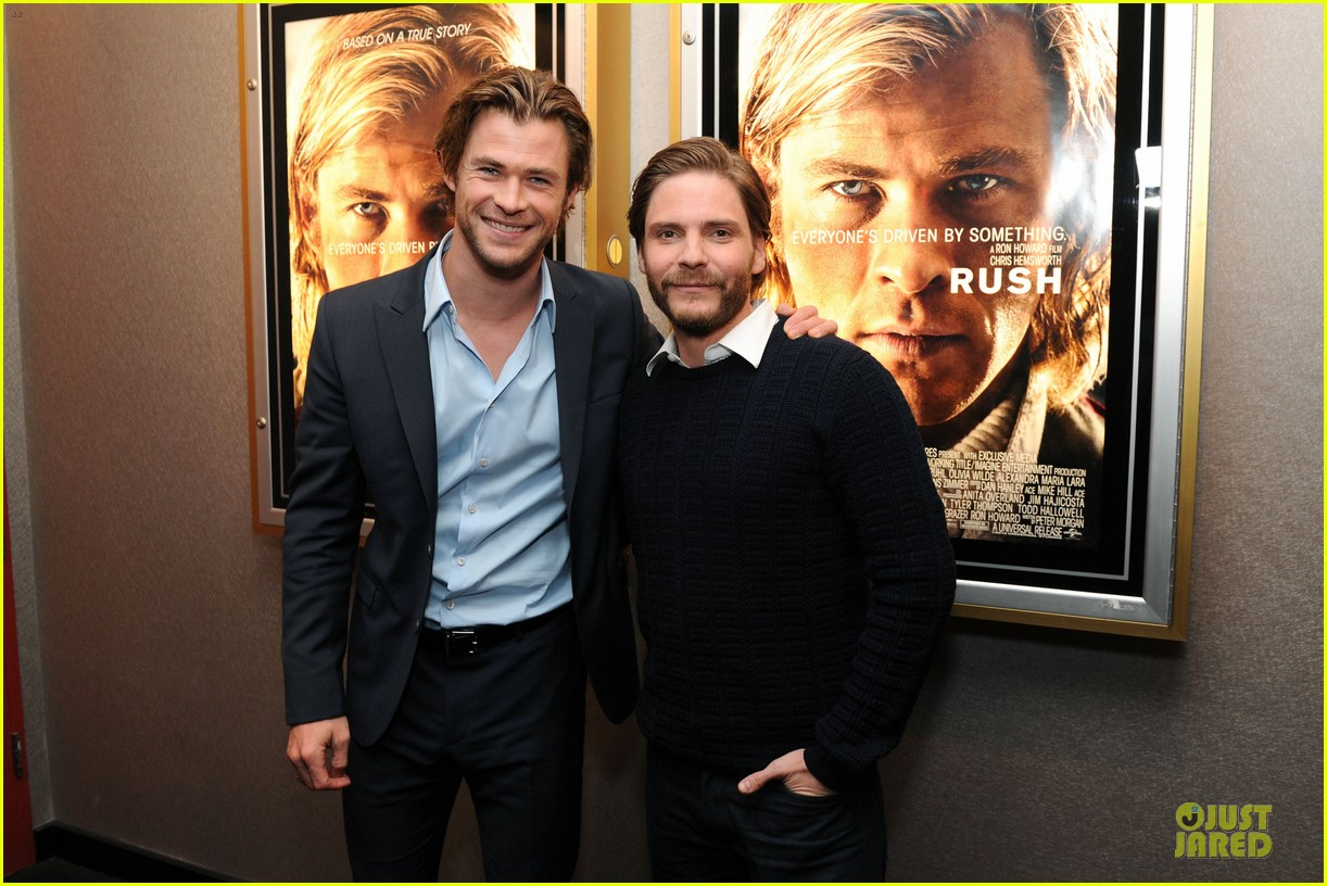 chris hemsworth daniel bruhl rush nyc screening 24