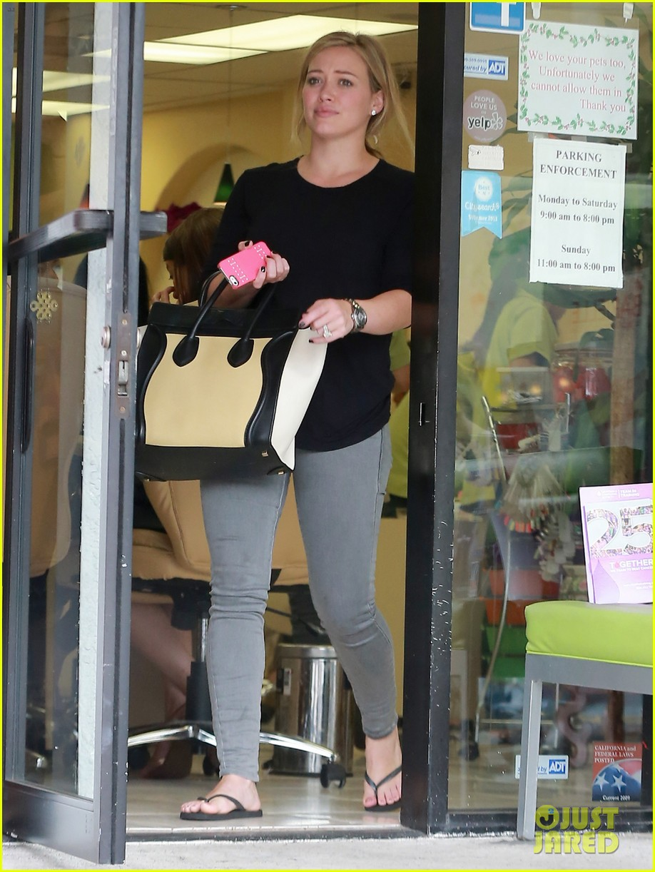 hilary duff girls day out with lisa stelly 172957701