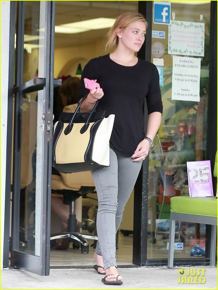 hilary duff girls day out with lisa stelly 19