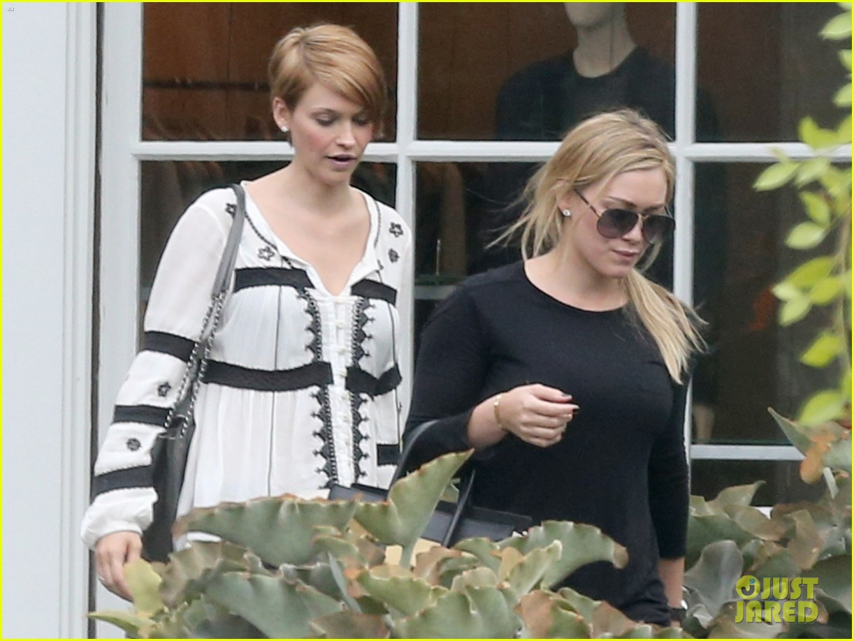 hilary duff girls day out with lisa stelly 242957708