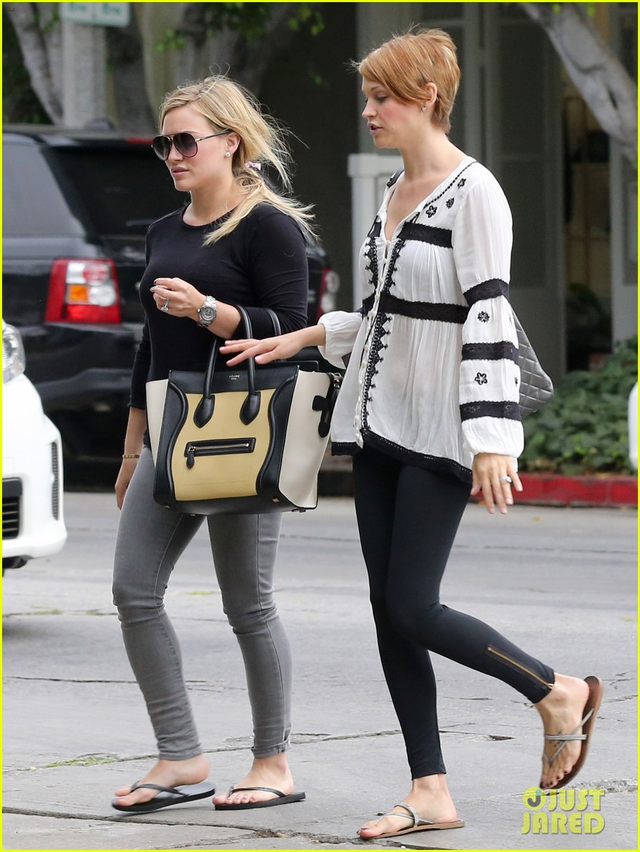 hilary duff girls day out with lisa stelly 292957713