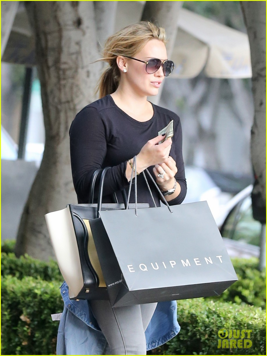 hilary duff girls day out with lisa stelly 312957715