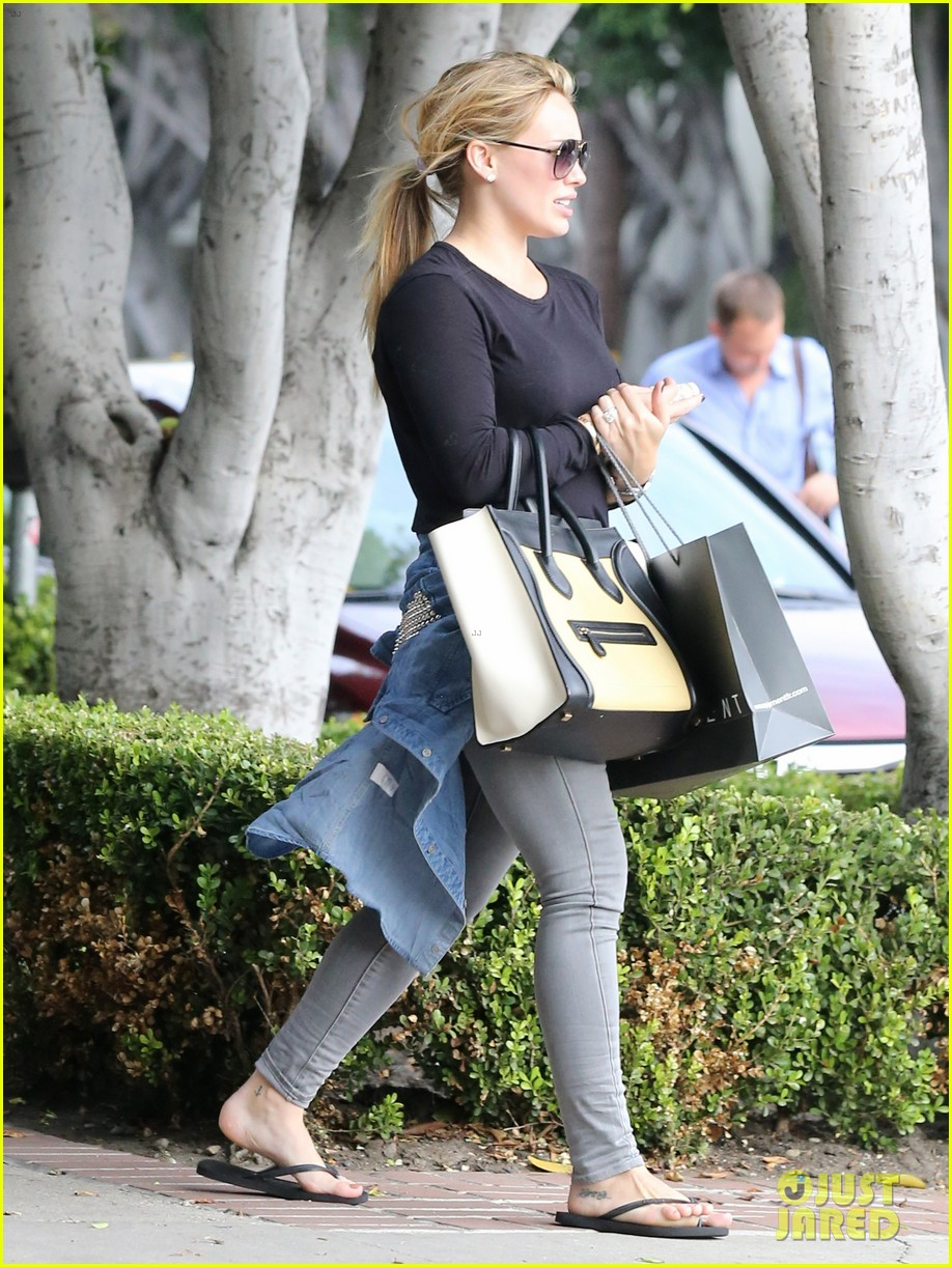 hilary duff girls day out with lisa stelly 322957716