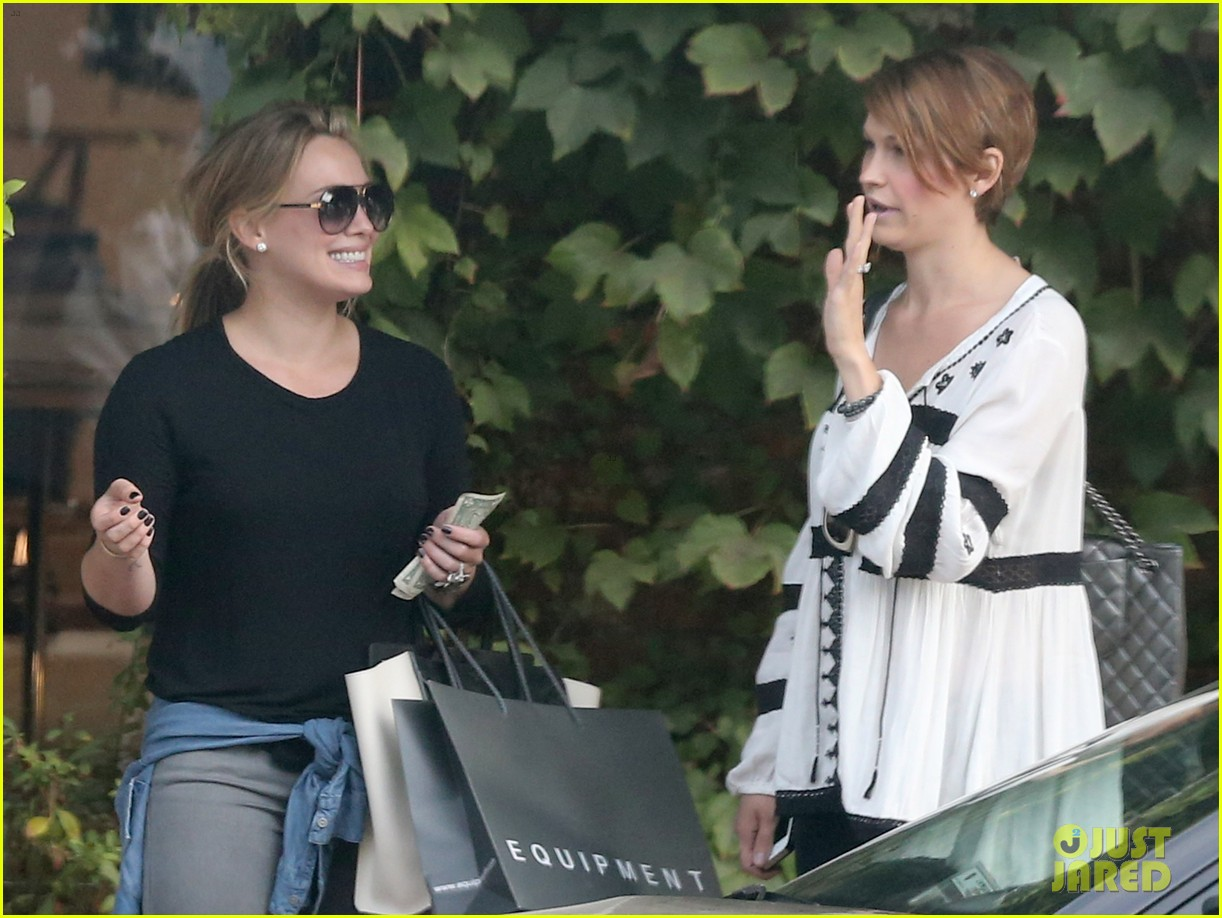hilary duff girls day out with lisa stelly 352957719