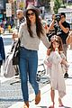 katie holmes steps out with arm casted suri 05
