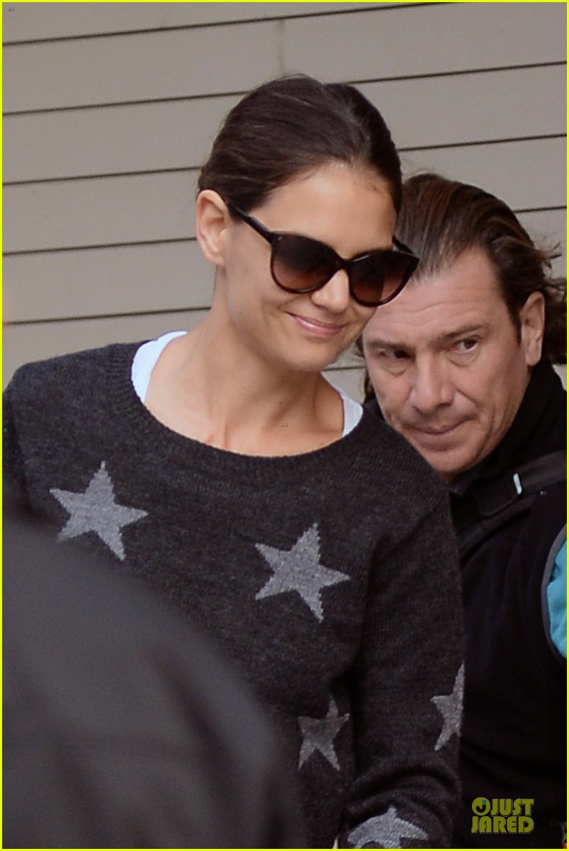 katie holmes wears two outfits to wrap up week 042961198
