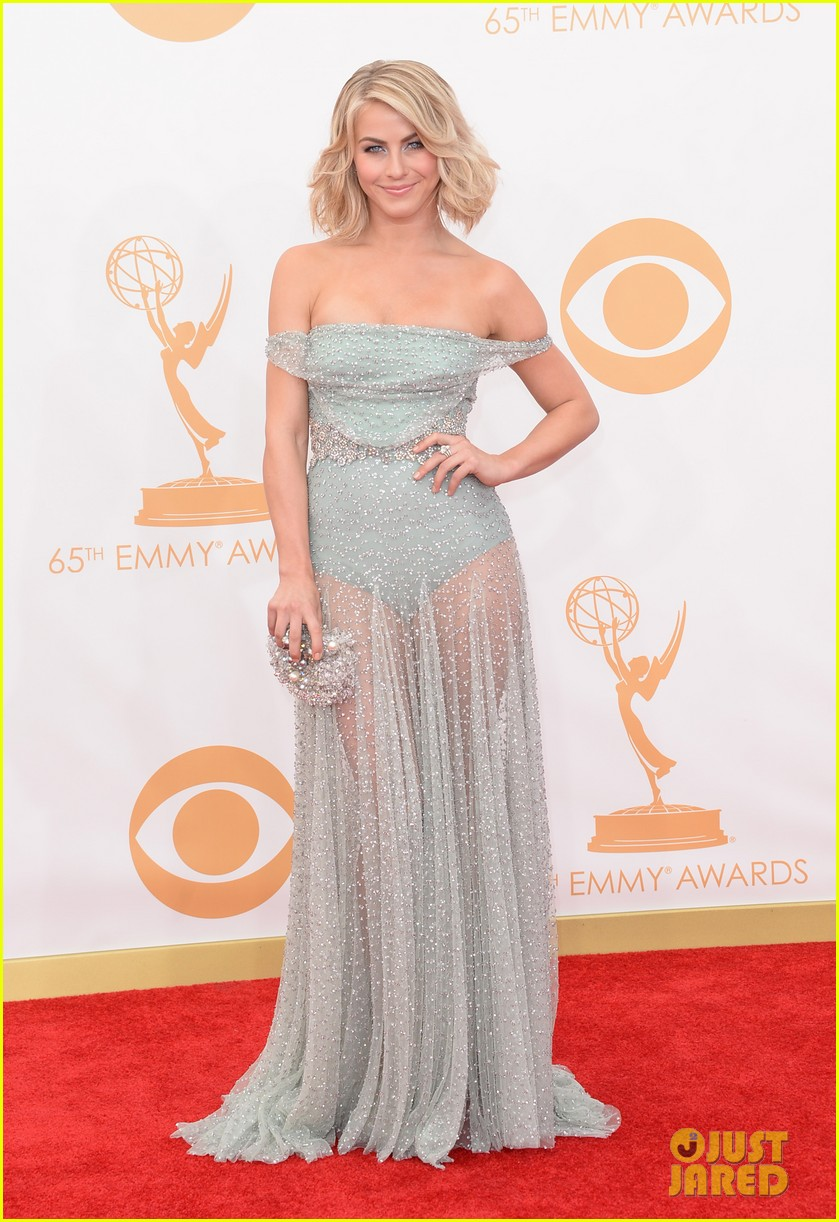 julianne hough emmys 2013 red carpet with brother derek 012958180