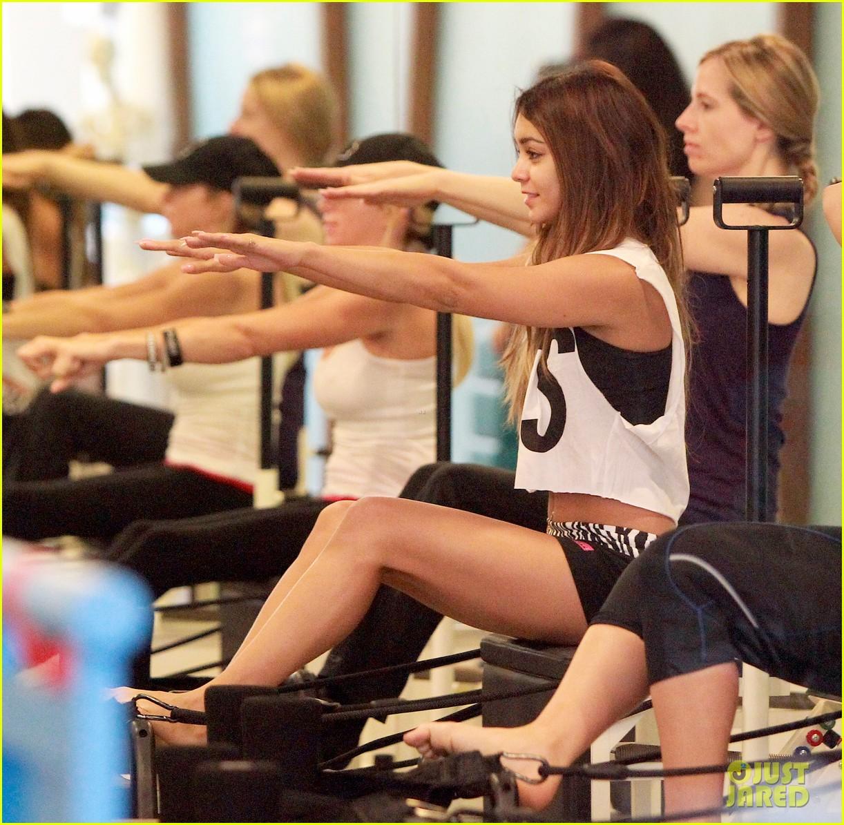 vanessa hudgens friday morning pilates with stella 032956152