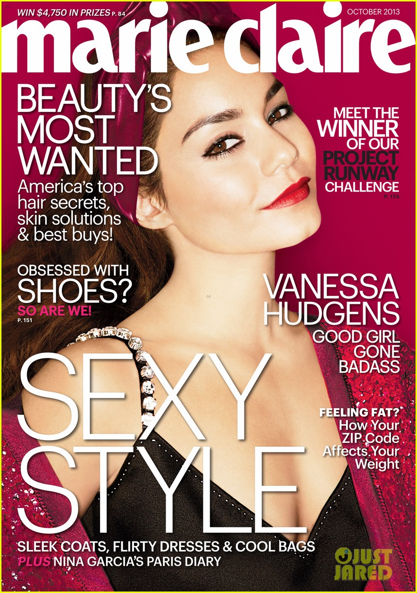 vanessa hudgens covers marie claire october 2013 022948072