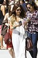vanessa hudgens spends sunday with stella 18