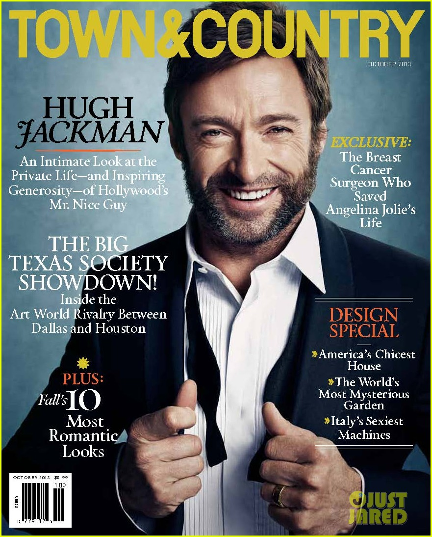 hugh jackman covers town country october 2013 092944537