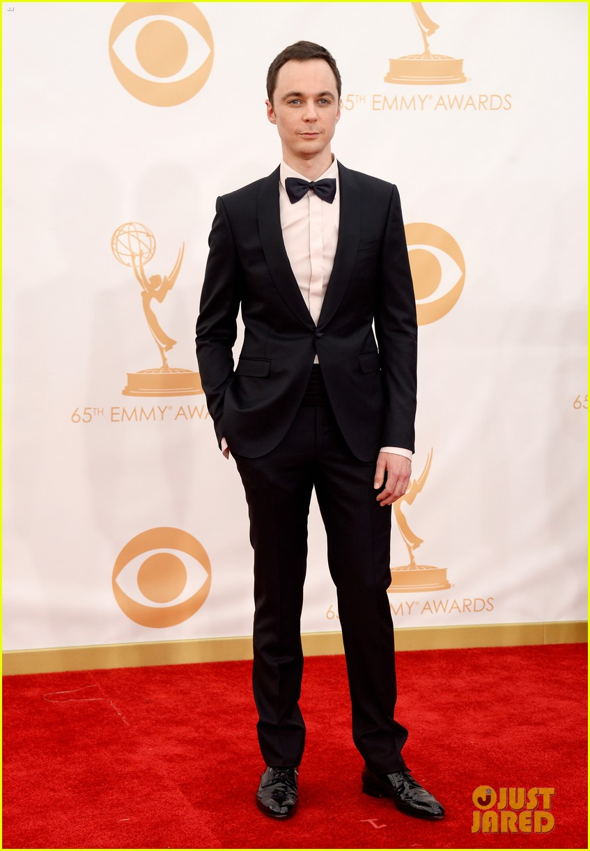 jim parsons emmys 2013 red carpet 032958224