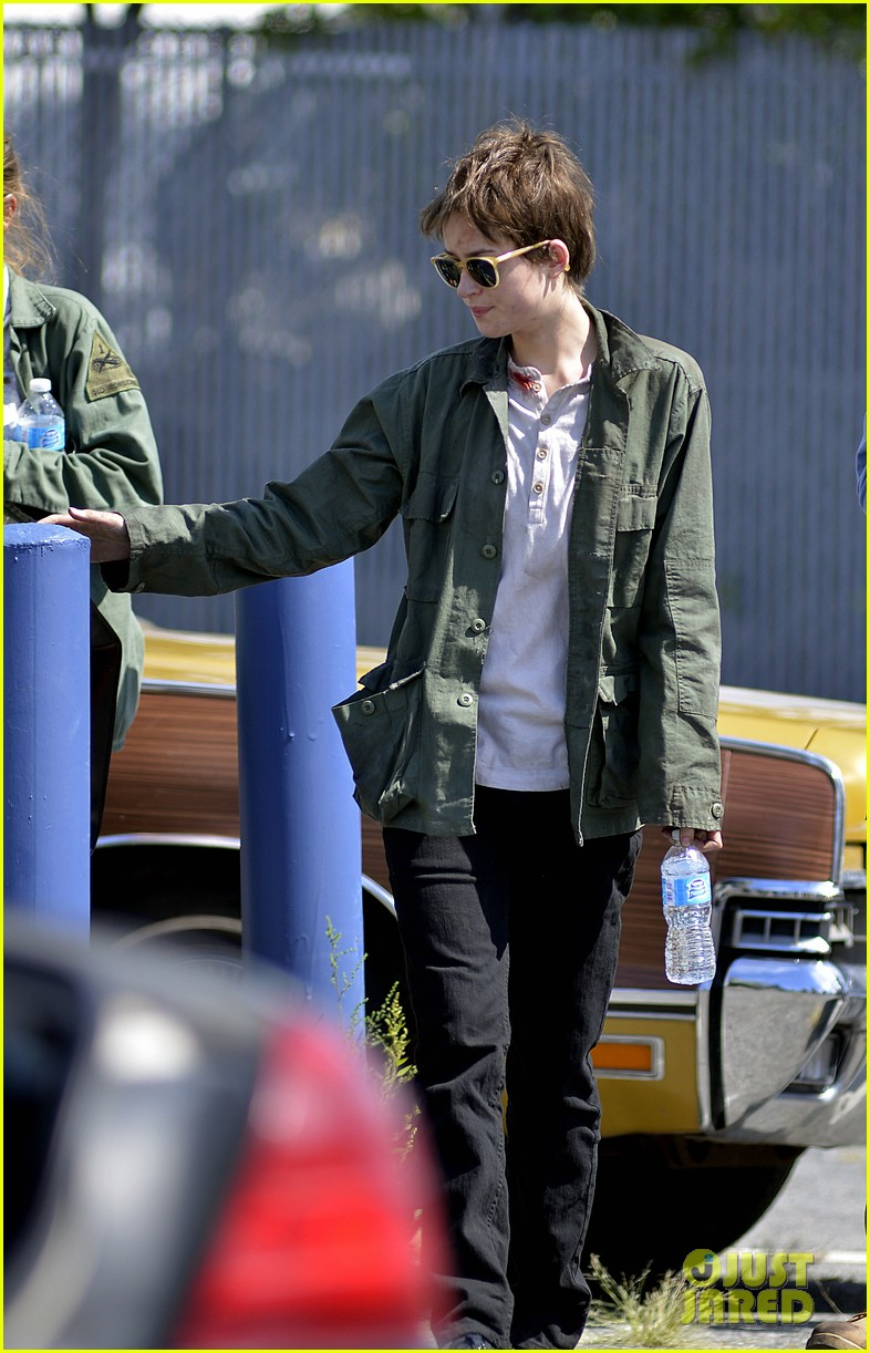 dakota johnson sports short brown hair for cymbeline 10