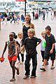 angelina jolie kids visit the sydney aquarium 05