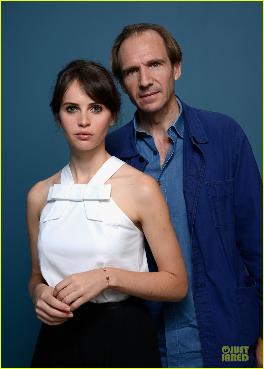 felicity jones ralph fiennes the invisible woman portraits 162945961