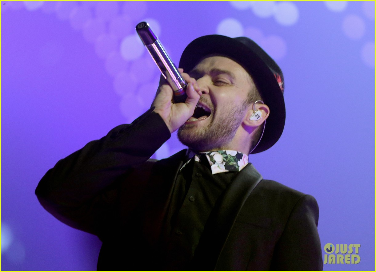 justin timberlake debuts two new songs iheartradio watch 012957339
