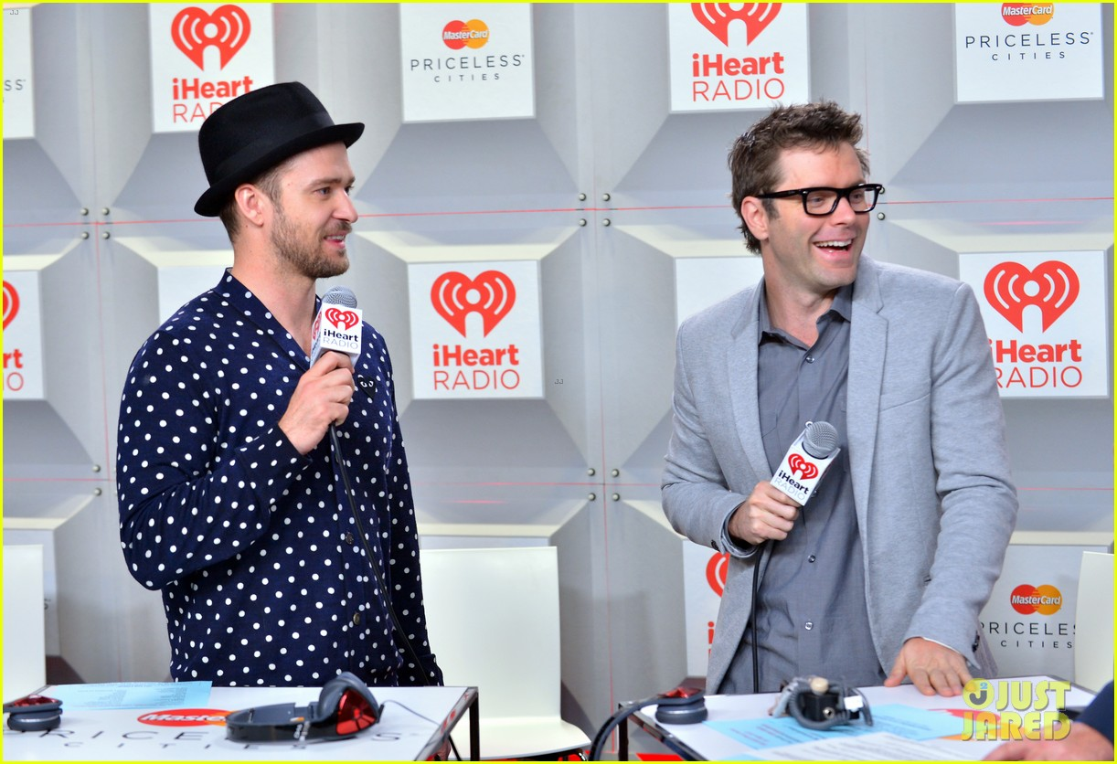 justin timberlake debuts two new songs iheartradio watch 092957347