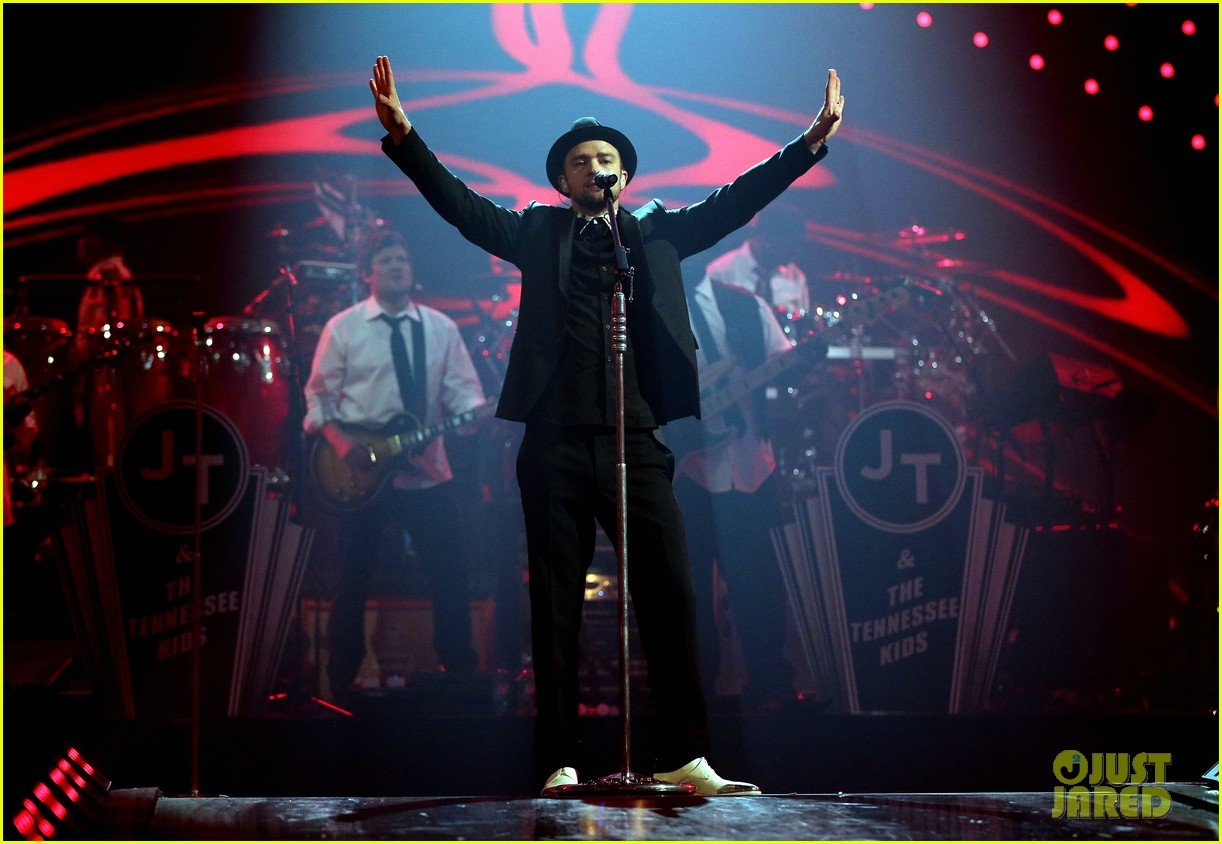 justin timberlake debuts two new songs iheartradio watch 162957354