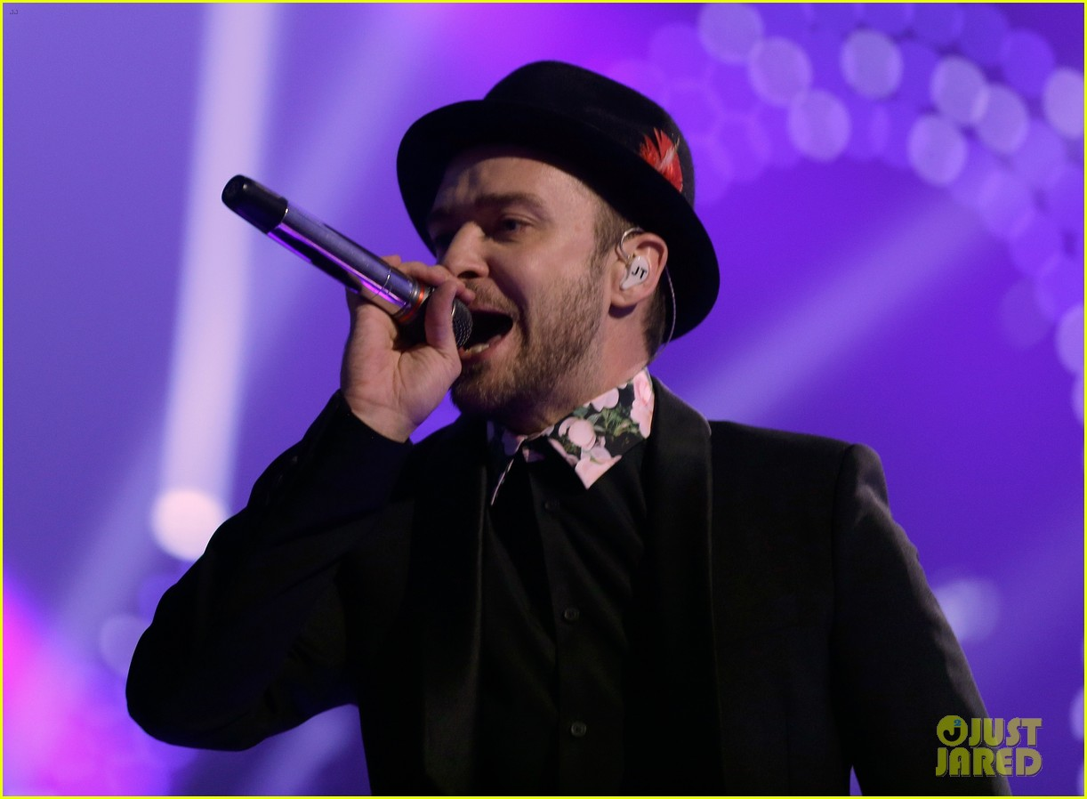 justin timberlake debuts two new songs iheartradio watch 172957355