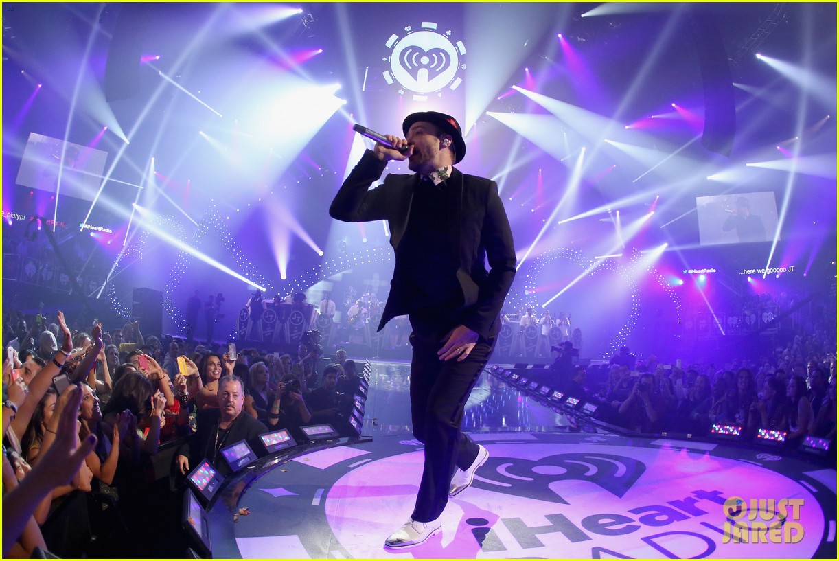 justin timberlake debuts two new songs iheartradio watch 212957359