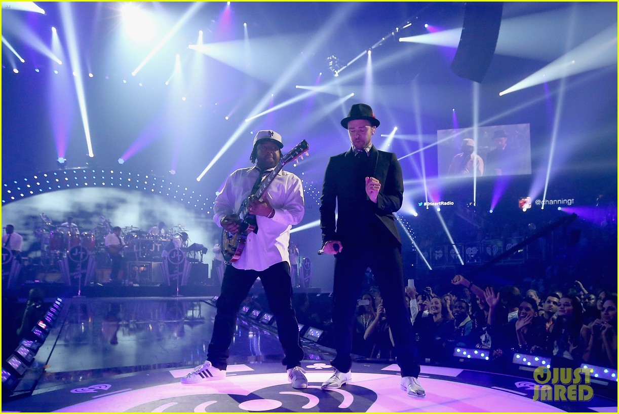 justin timberlake debuts two new songs iheartradio watch 292957367