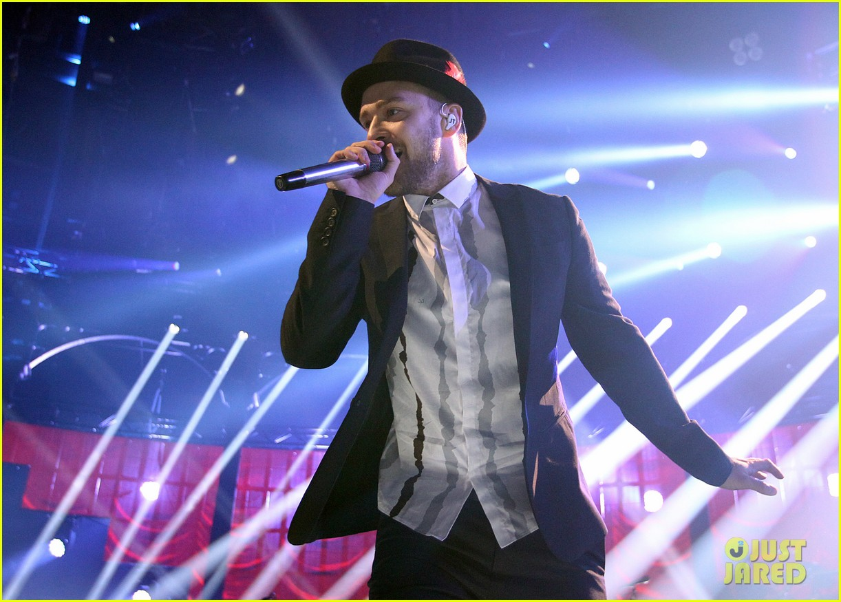 justin timberlake performs itunes music festival 2013 12