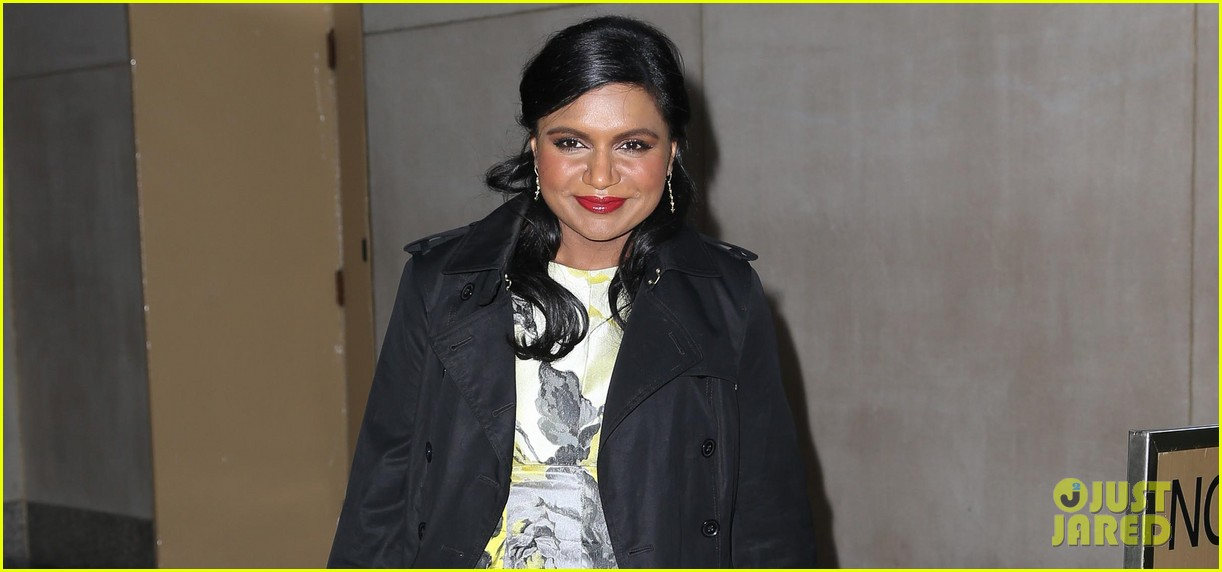 mindy kaling promotes mindy project premiere on today 032954599