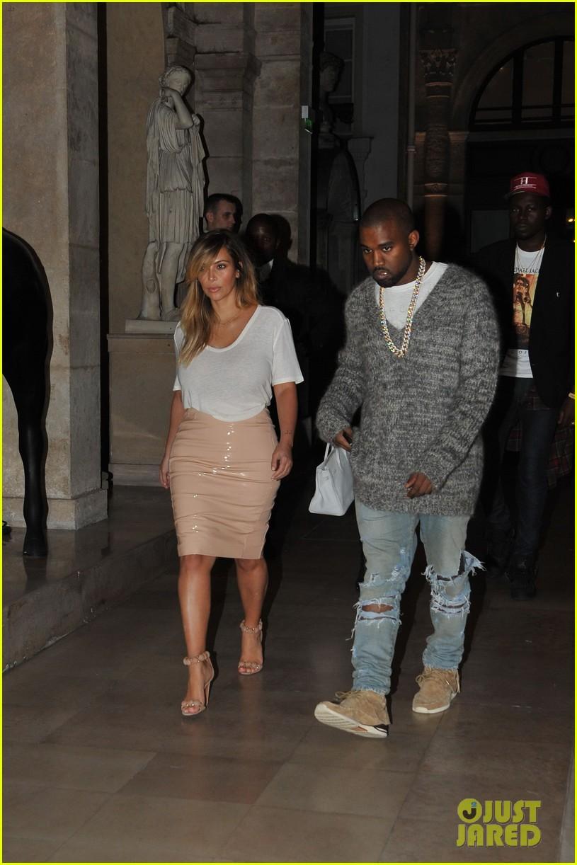 kim kardashian kanye west parisian dinner date 052963307