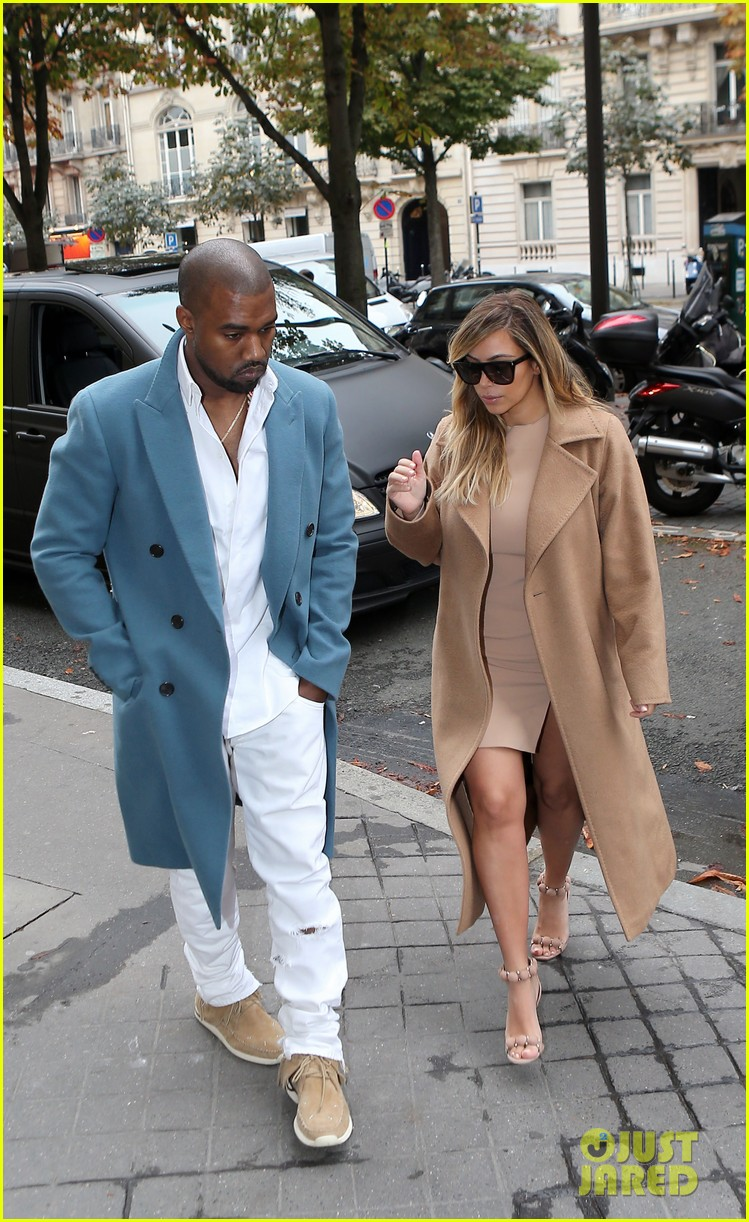 kim kardashian kanye west lavenue lunch duo 02