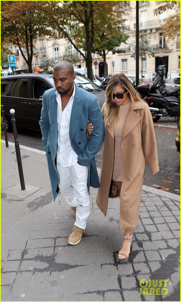 kim kardashian kanye west lavenue lunch duo 032963096