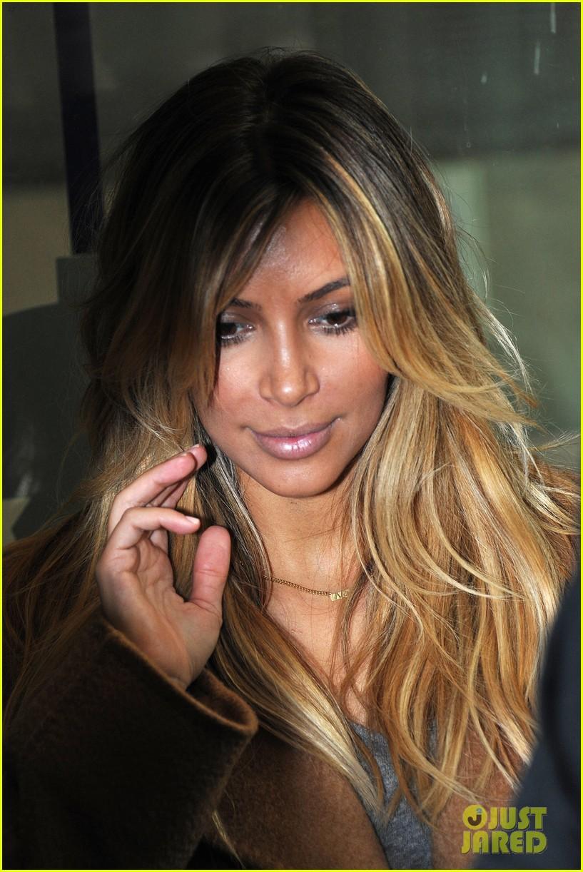 kim kardashian kanye west step out together in paris 112961533