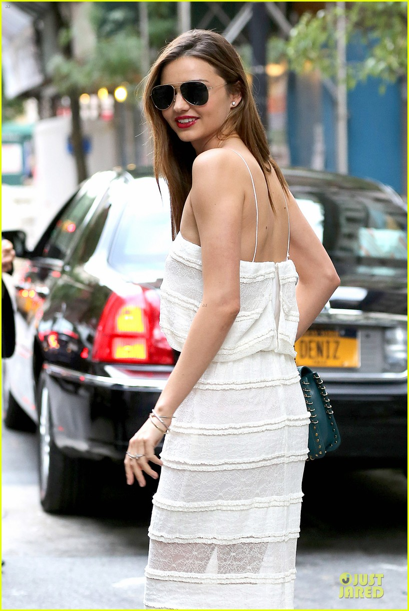 miranda kerr sports sheer dress for gal pal birthday 042953752
