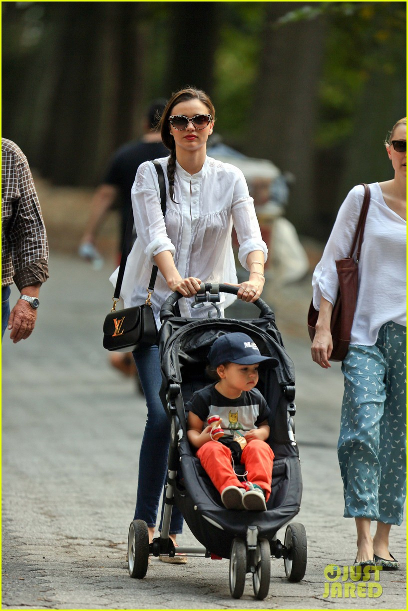 miranda kerr central park fun with flynn 022951303