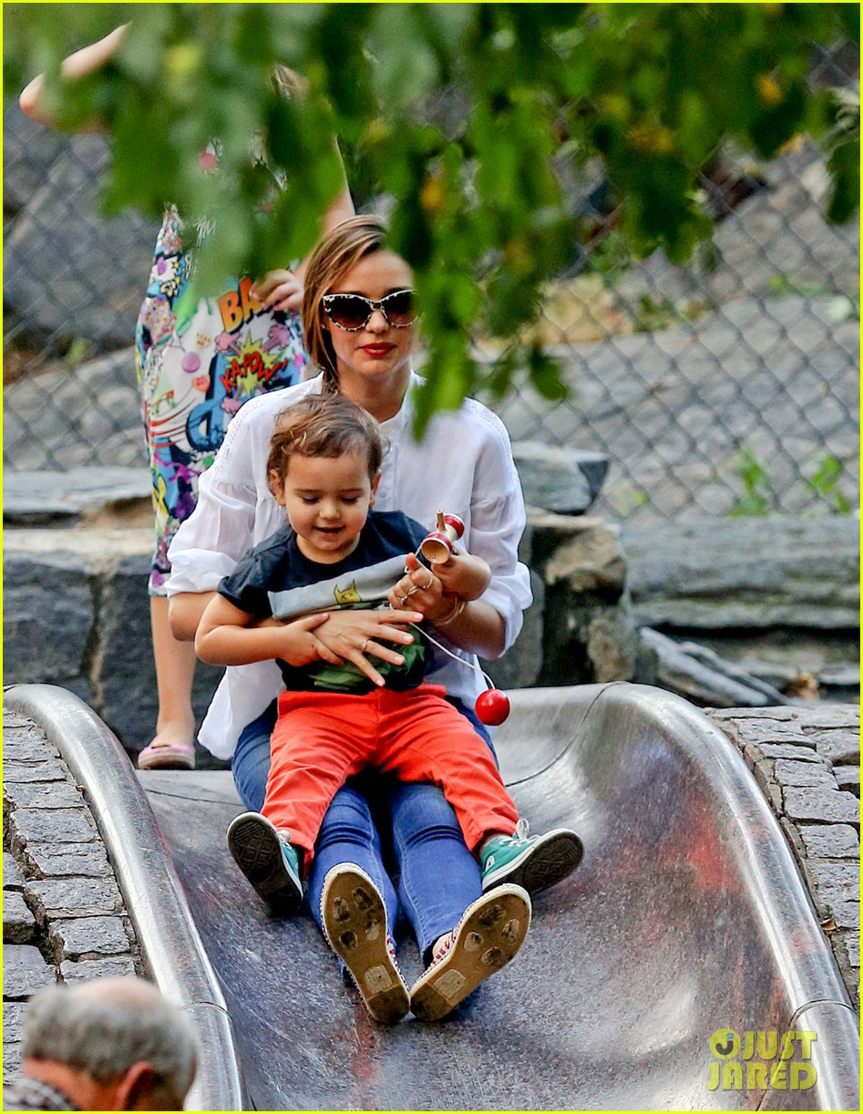 miranda kerr central park fun with flynn 042951305