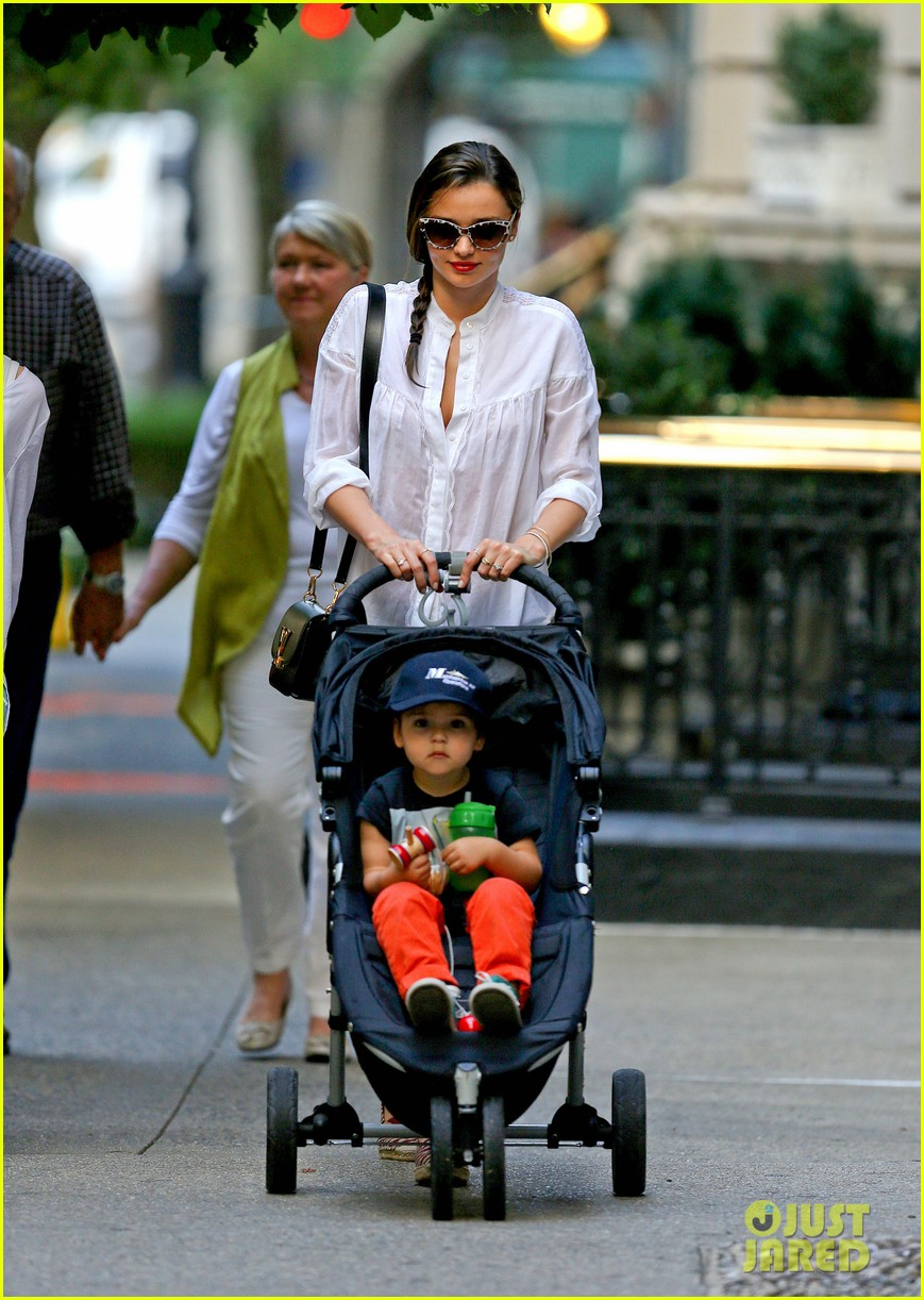 miranda kerr central park fun with flynn 082951309