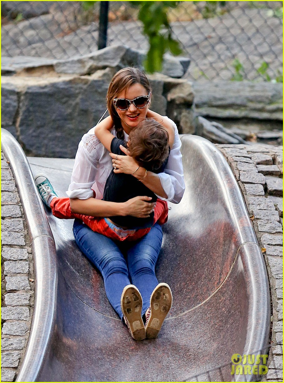 miranda kerr central park fun with flynn 112951312