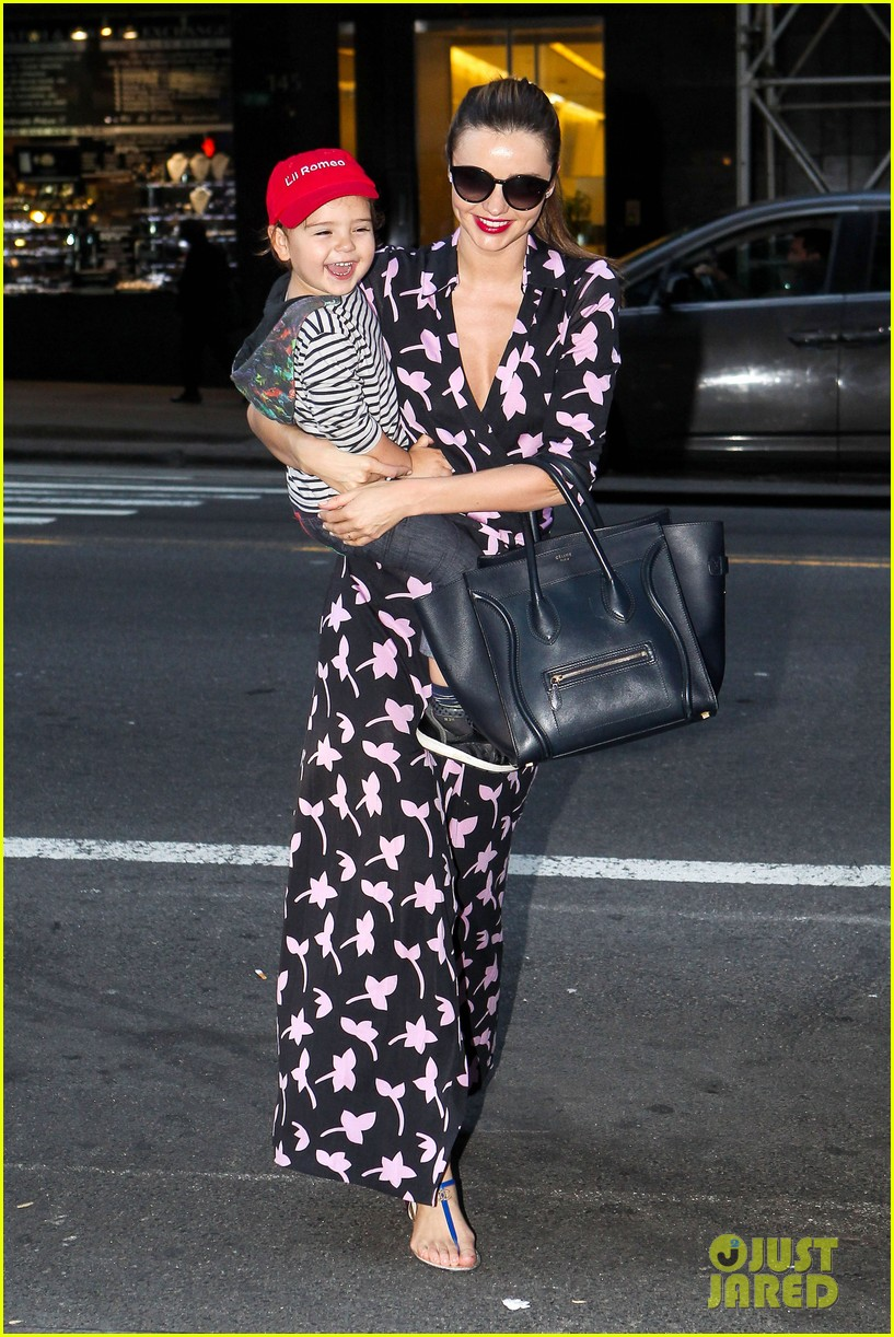 miranda kerr steps out with her lil romeo flynn 012954786