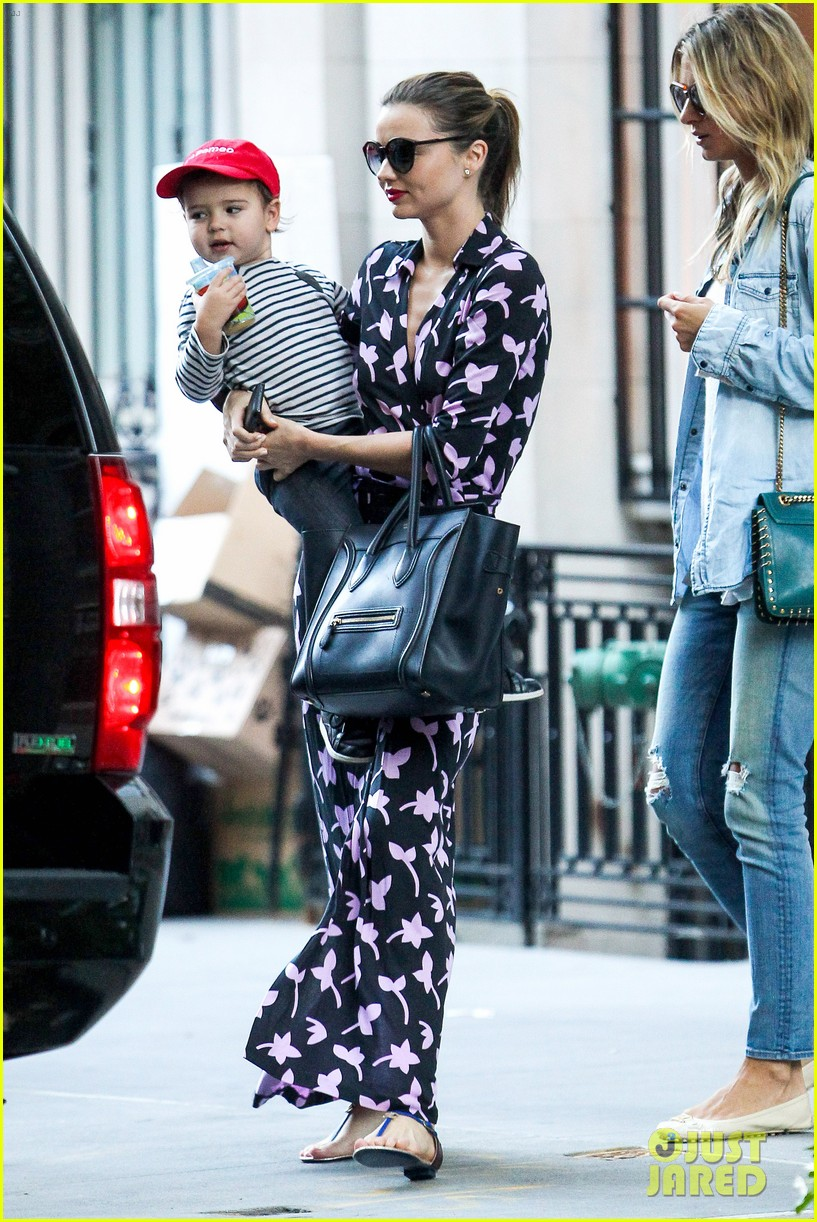 miranda kerr steps out with her lil romeo flynn 022954787
