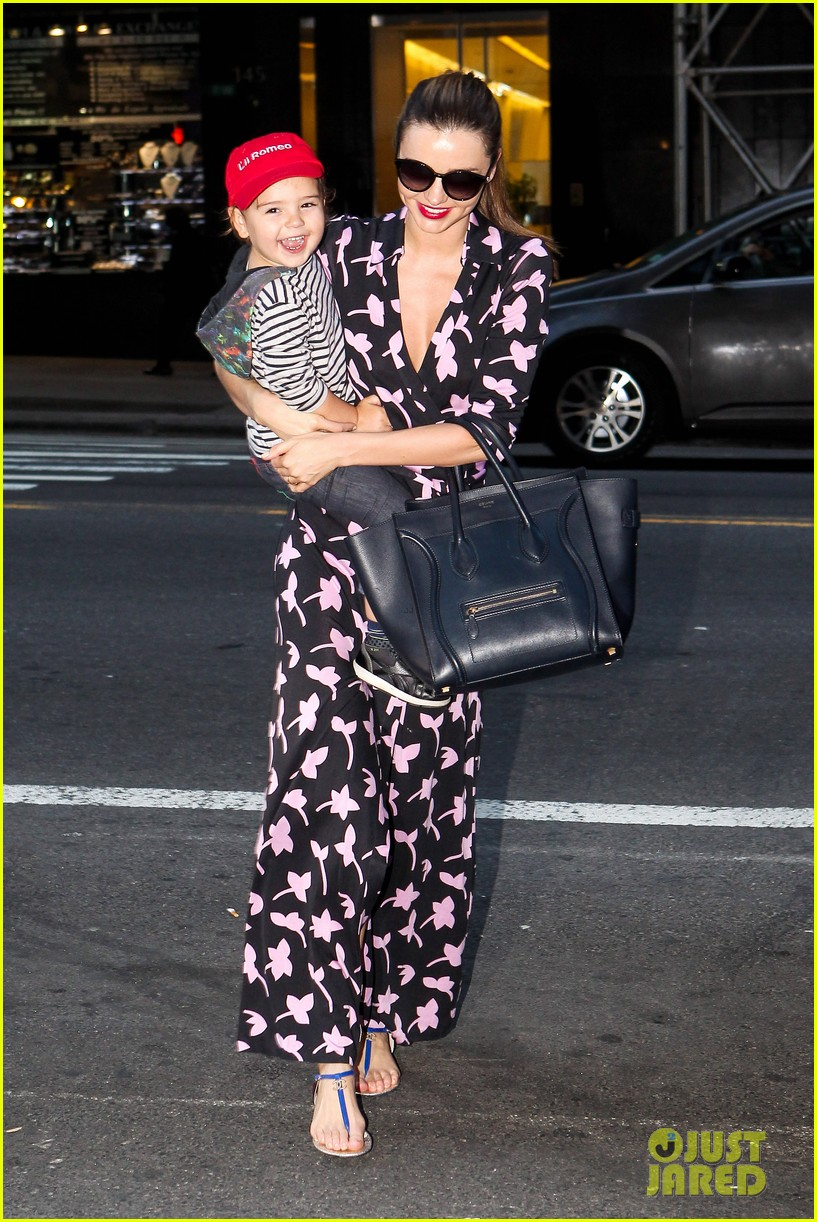 miranda kerr steps out with her lil romeo flynn 032954788