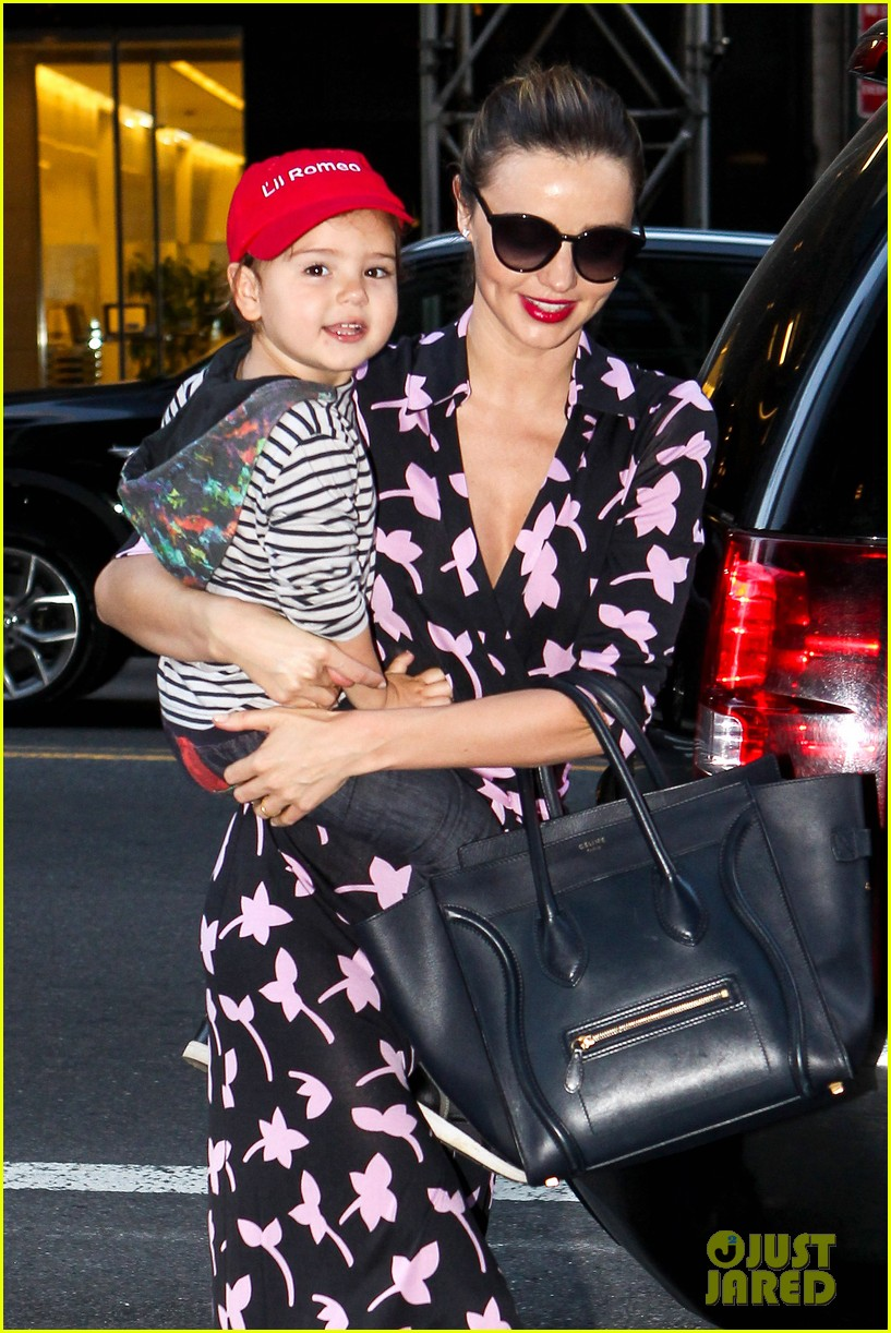 miranda kerr steps out with her lil romeo flynn 072954792