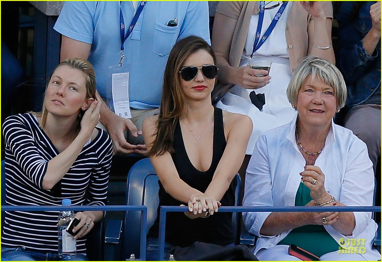 miranda kerr us open womens final spectator 062947475