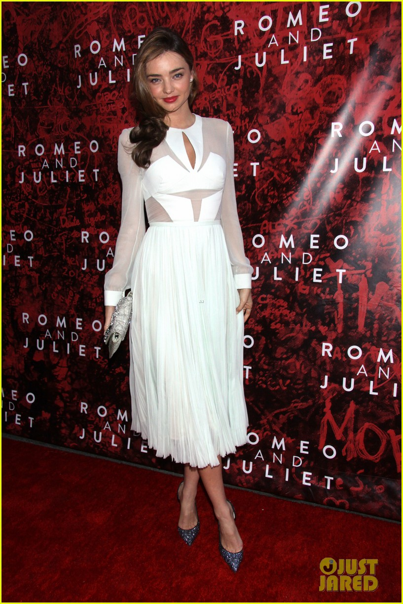 miranda kerr romeo juliet opening to support orlando bloom 052955614