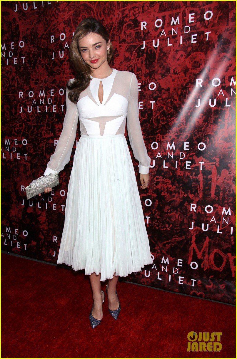 miranda kerr romeo juliet opening to support orlando bloom 102955619