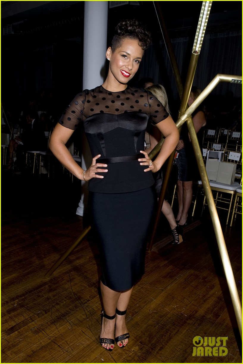 alicia keys maria sharapova jason wu fashion show 052945214