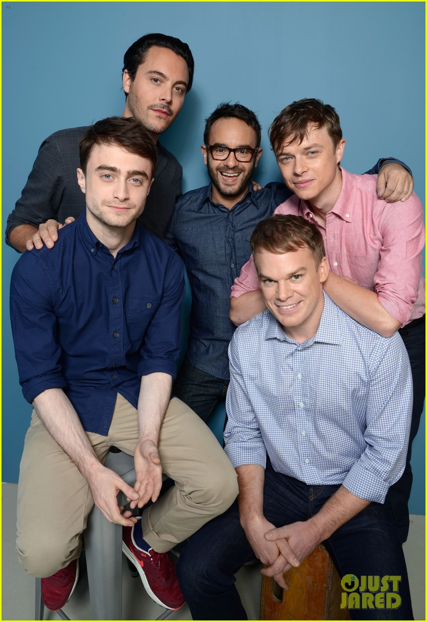 michael c hall daniel radcliffe kill your darlings tiff cast portraits 072946980