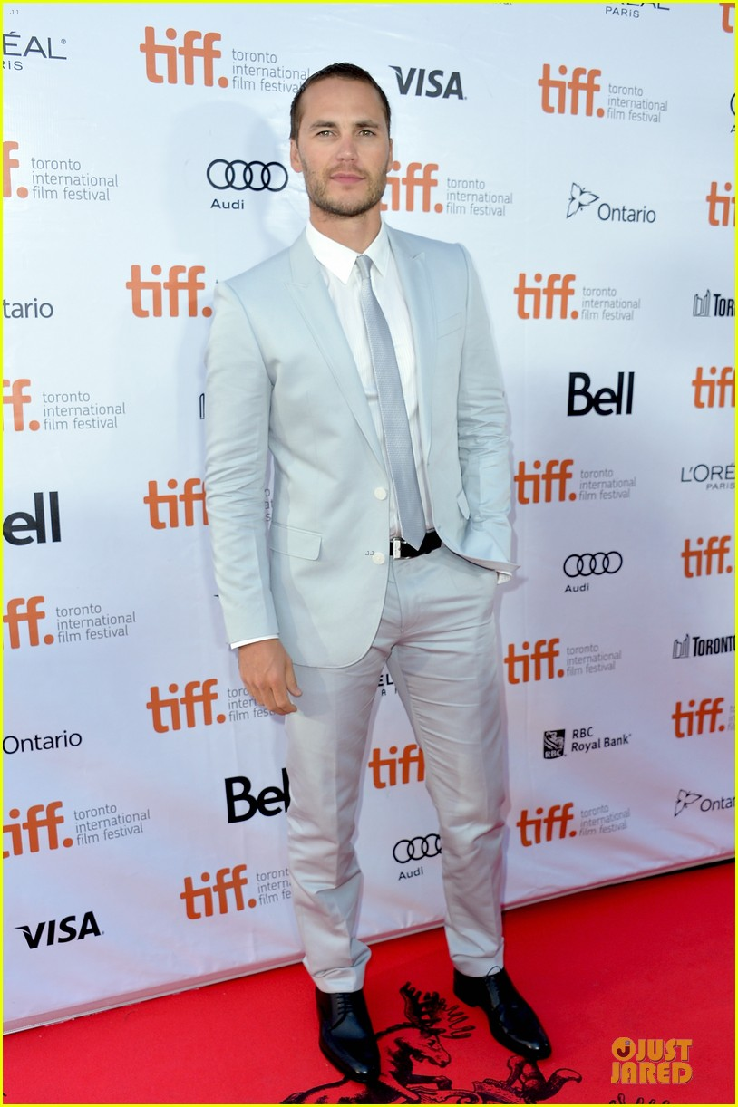taylor kitsch the grand seduction tiff premiere 012947790