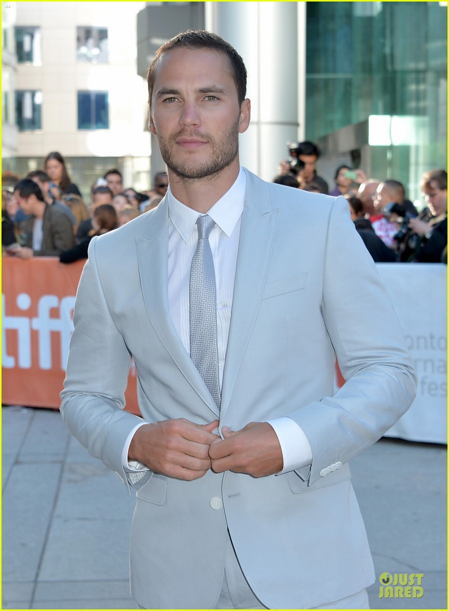 taylor kitsch the grand seduction tiff premiere 162947805