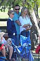 heidi klum tends to henry bloody nose soccer game 21